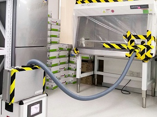 工作场景图-过氧化氢消毒